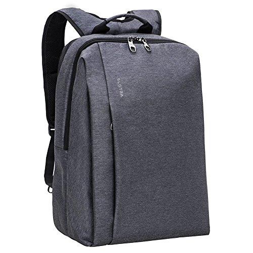 15.6' Blue Gaming Laptop (SLOTRA Laptop Backpack 17 Inch for Men Anti theft Water Repellent Computer Backpack Padded PC Pocket Large Elegant Work Business Travel School Bag Grey Blue)
