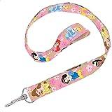 Disney Princess Lanyard Birthday Party Favour (1 Piece), Pink, 18 1/2