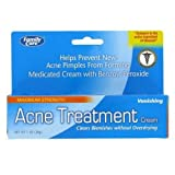 Maximum Strength 10% Benzoyl Peroxide Acne Treatment Vanishing Cream - 1 0z