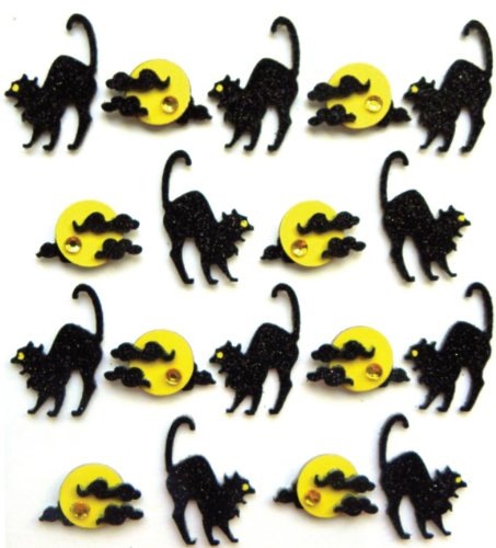 Jolee's Boutique Dimensional Stickers, Arching Cats
