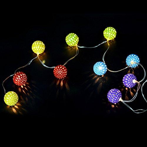 led strings christmas day carnival strobe lights string home wedding