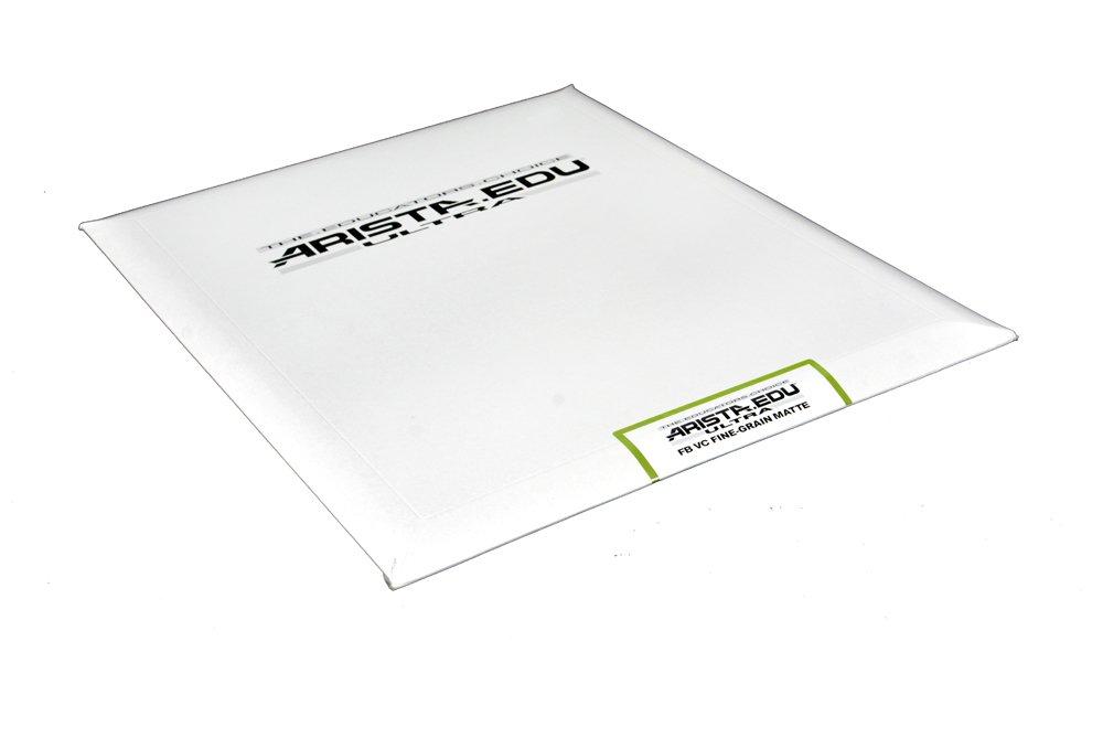 Arista EDU Ultra FB VC Black & White Photographic Paper, Fine Grain Semi-Matte 11x14, 25 Sheets