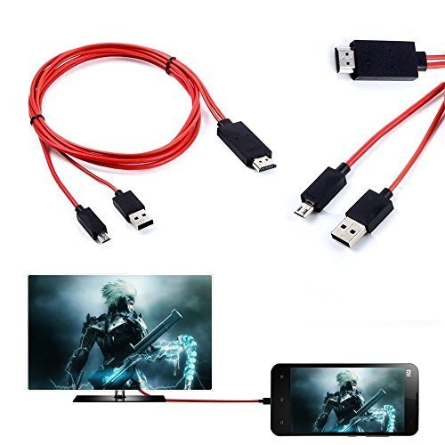 MHL micro USB to 1080P HDMI HDTV Cable Adapter Cord For Sams