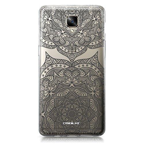 CASEiLIKE Funda OnePlus 5T , Carcasa OnePlus 5T, Cómic Títulos 2914, TPU Gel silicone protectora cover Arte de la mandala 2304