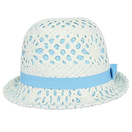Blu Female Dome Acvip Hat Blue Sun Beach Paper Knot w87SxAqI