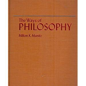 Ways of Philosophy