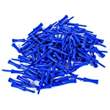 Step Down Golf Tees 100pcs Plastic Blue 68mm Golf Tees Step Down Golf Accessory Tool For Golf Sports