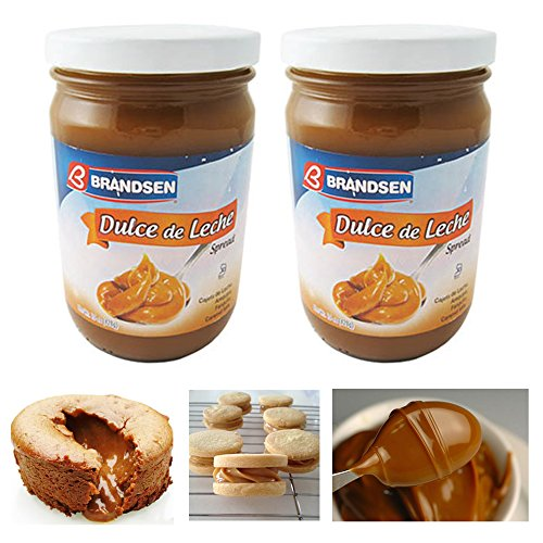 2 Jars Dulce De Leche Milk Caramel Spread Argentina Arequipe Kosher Brandsen Lot