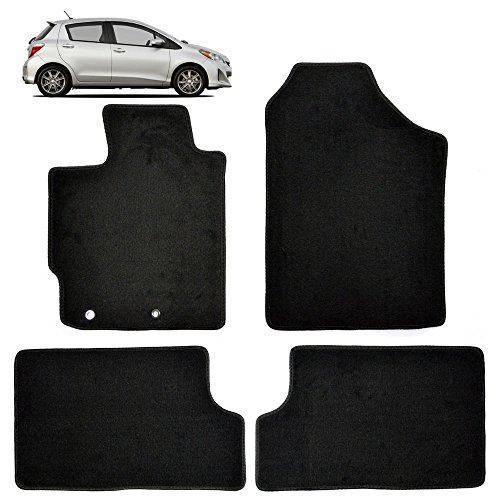 Complete Custom Floor Mats for Toyota Yaris 2007-2011 – OEM Replacement Thick Carpet