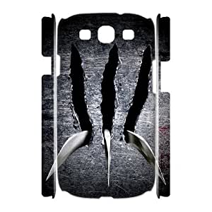 I-Cu-Le Wolverine Customized Hard 3D Case For Samsung Galaxy S3 I9300