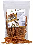 Pet Eden Chicken Jerky Dog Treats Made in USA Only, Hickory Smoked, 1 lb. of USDA Grade A Chicken Breast Strips. All Natural, Healthy Snacks for Dogs. No Preservatives, Grain Free For Sale