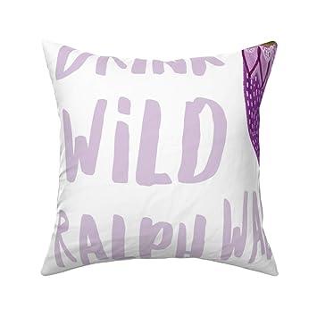 Amazon.com: PMNADOU Pillows,loveys Sparkle Mermaids Purple ...