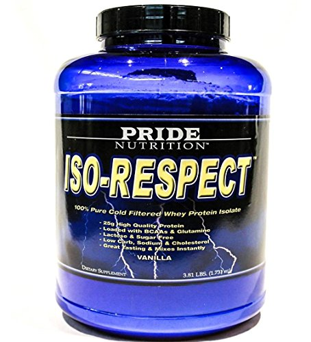 #1 Whey Protein Isolate Shake- Iso-Respect Protein Chocolate 60 Servings– Best Whey Protein Powder for Women & Men – No Lactose - Mixes With a Spoon- High Quality Protein Shake