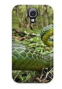 New Snake Tpu Case Cover, Anti-scratch CharlesRaymondBaylor Phone Case For Galaxy S4 by lolosakes