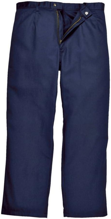 Navy Portwest BZ30 Pantaloni Bizweld Taglia XXXL