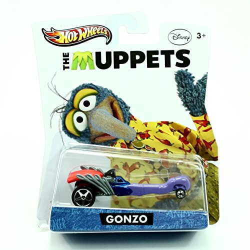 Hot Wheels Y0758 The Muppets Gonzo (Beaker From Muppets)
