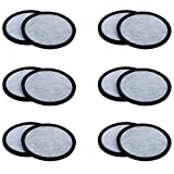 12-Pack of Mr. Coffee Compatible Water Filters - Universal Fit Mr Coffee Compatible Filters - Replacement Charcoal Water Filter Discs for Mr Coffee Coffee Brewers - Better Than OEM!