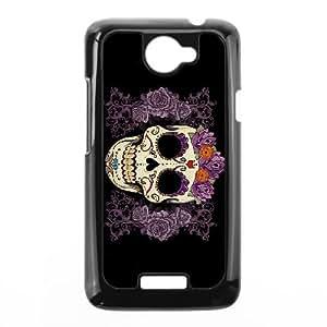 HTC One X Phone Case Black Sugar Skull Cover PLU6205121