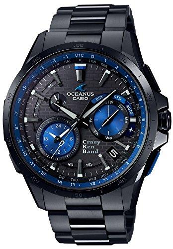 CASIO Men's Watch OCEANUS GPS hybrid Solar radio CRAZY KEN BAND collaboration model OCW-G1000CK-1AJR
