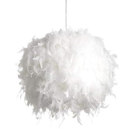Lámpara pluma techo lustre Suspensión pluma moderno para ...