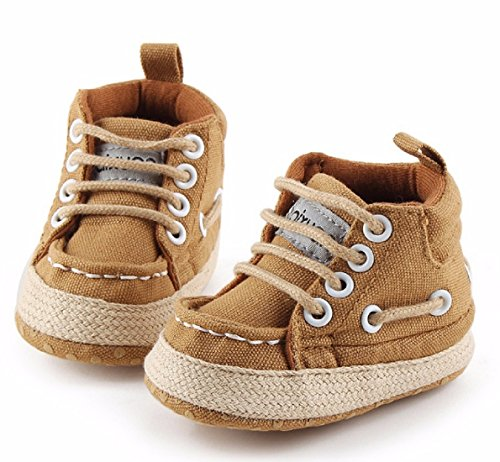 Cheap Spring Classic Baby Boy Girl Shoes Infants Casual Newborn Canvas Children Boots Kids Booties Bebe Sapatos Sport Sneakers (3, - Hk Price Ferrari