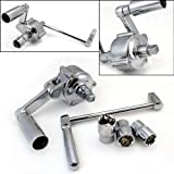 XtremepowerUS Torque Multiplier Lug Nut Labor Saving Wrench W/Case
