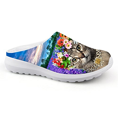 Lightweight Cat Bigcardesigns Floral Female Loafers Bigcardesigns 41 Floral Casual Print rtwwSYpq