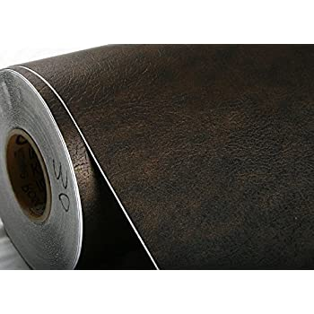 ROSEROSA Peel & Stick Wild Ox Faux Leather Textured