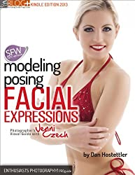 Model Posing: Facial Expressions - Photographer's Visual Guide with Jenni Czech (Non Nude Version) (English Edition)