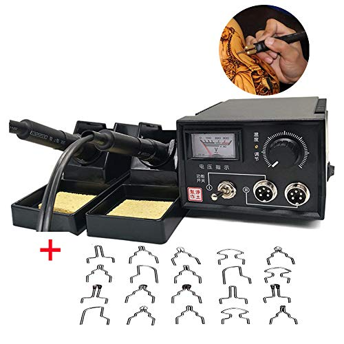 essional Woodburning Detailer 50W Laser Pyrography Machine Wood Burning Kit for Wood Leather,Christmas Nice Present (Dual Poniter Display) ()