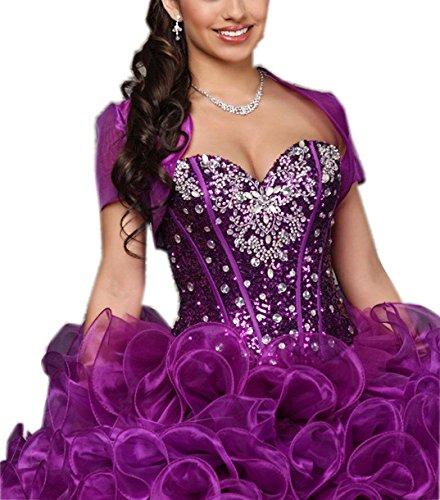 Violett Kleid Fanciest A Damen Linie 8X4gzf
