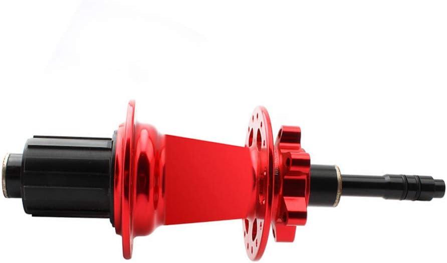 12 mm a 9 mm, Eje Transversal Adaptador, Eje de Tambor de Flores 12 Vueltas 9 Unidades Eje de conversi/ón para Eje de Bicicleta Leezo MTB