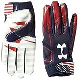 Under Armour Men's F6 LE Football Gloves, Midnight Navy (410)/White, Medium