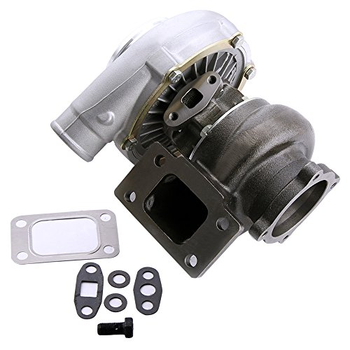 maXpeedingrods Universal Turbocharger GT3076R GT3037 GT30 T3 Flange 500HP for All 6 8 Cyl Water And Oil Cooled Turbo Charger(GGT3037)
