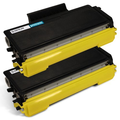2-Pack Compatible with Brother TN-650 Black Toner Cartridges for use with Brother MFC 8480DN 8680DN 8890DW HL 5340D 5370DW 5370DWT DCP 8080DN 8085DN Printer (Brother Mfc 8480dn Toner)