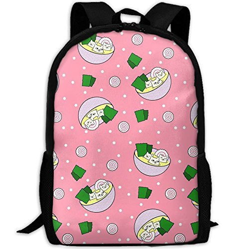 Price comparison product image NEW Student Backpack,  School Backpack For Laptop, Most Durable Lightweight Cute Travel Water Resistant School Backpack - Japanese Food Tofu Cats In Miso