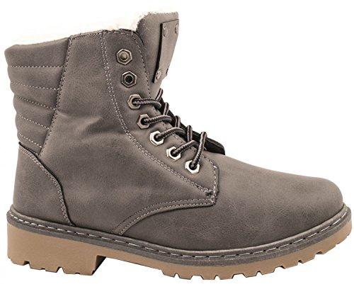 Elara Women's Boots black black Grey Tv046K