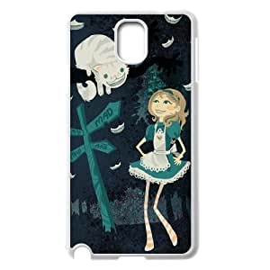 AinsleyRomo Phone Case Cheshire cat and alice pattern case For Samsung Galaxy NOTE3 Case Cover FSQF483957