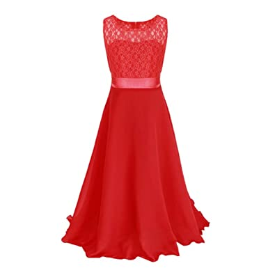"""Vera"" Lace Bodice Prom Dress - Red ..."