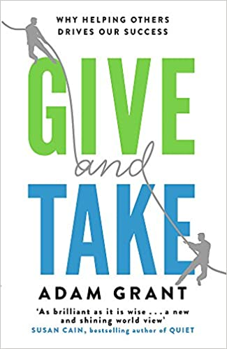 amazon give and take why helping others drives our success adam