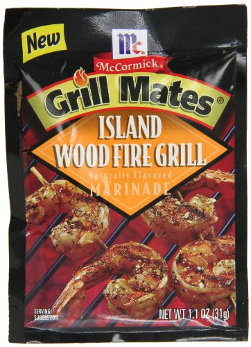 McCormick Grill Mates Island Woodfire Grill Marinade, 1.1 oz (Case of 12)