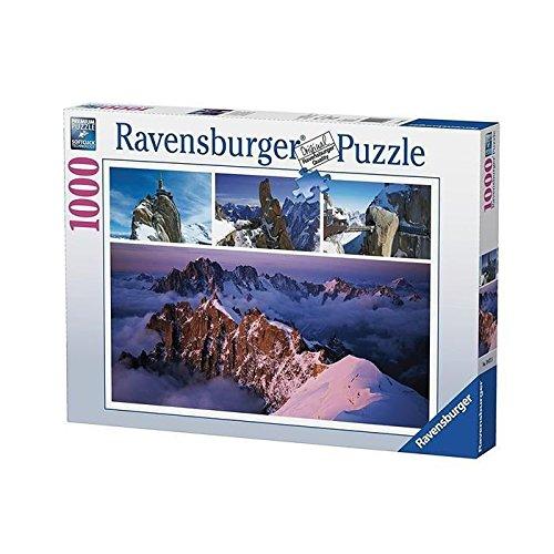 Ravensburger 19671 - Puzzle Montagne Hiver 1000 pièces