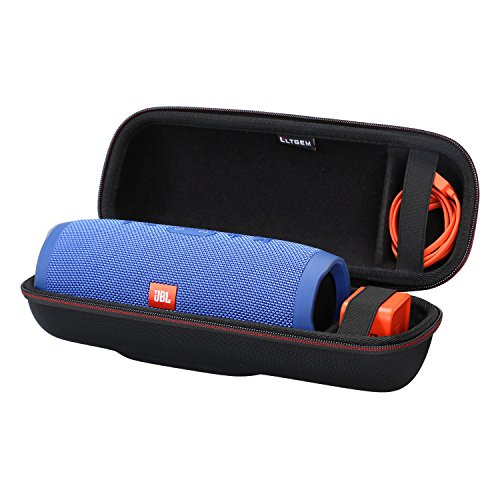 LTGEM EVA Hard Case for JBL Charge 3 Waterproof Portable Bluetooth Speaker - Travel Protective Carrying Storage Bag Fits USB Cable and Charger. ()