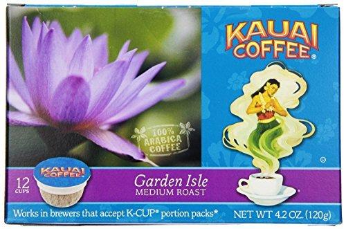 Kauai Coffee Garden Isle Medium Roast, Single Serve Cups, 36 Count