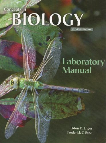 Lab Manual to accompany Concepts In Biology