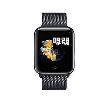 Montre Connectée Bracelet Milano magnétique pour Smartphone Apple iOS Android et Windows Bluetooth 4.0 Langue Français Prise Rythme Cardiaque SMS ...