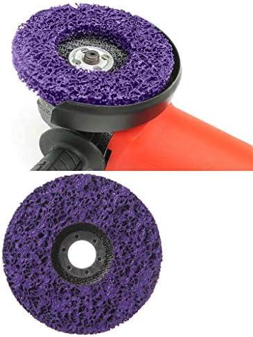 BIlinli /Élimination de la Rouille de Peinture Abrasive de Disque de Bande de Poly de Roue de la meule 125mm Propre pour la rectifieuse Angulaire
