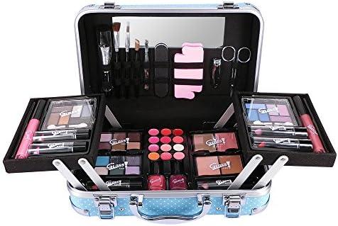 Gloss - caja de maquillaje, caja de regalo para mujeres - Victim Vintage Moda Maquillaje caso - 48pcs: Amazon.es: Belleza