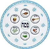 Seder Plate Passover Plate Melamine Floral Design Passover Seder Plates