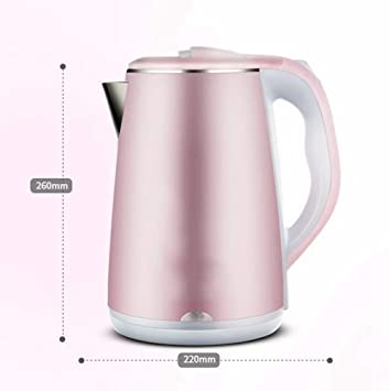 Amazon.com: Ambiguity Electric Kettles, Double Anti-scalding Electric Kettle, Kettles, Stainless Steel Fast Kettle: Home & Kitchen